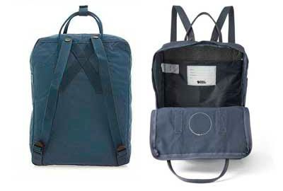 Interior mochila kanken laptop 15""